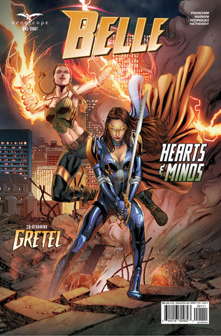 Belle: Hearts & Minds One Shot. Cover A. Igor Vitorino. Ivan Nunes. 2020. Zenescope.