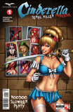 Cinderella: Serial Killer Princess #1 Cindy Red Marker X Photograph Zenescope Universe Characters Samurai Sword