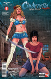 Cinderella: Serial Killer Princess #1 Cindy Samurai Sword Execution Threatening Girl Danger