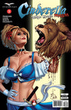 Cinderella: Serial Killer Princess #3 Cindy Samurai Sword Beheading Lion Holding Head Evil Tongue In Cheek Violence
