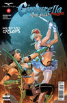 Cinderella: Serial Killer Princess #4 Cindy Fight Robyn Hood Sword Bow and Arrow Fire Moonlight Battle Action