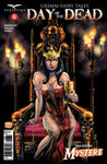 Day of the Dead #6 C Allan Otero Girl on Throne Queen of Pentacles Mary Medina Mystere