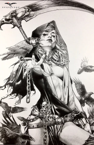 Jay Anacleto Art Print 01 - GTOT Vol. 4 #10 - Death Box