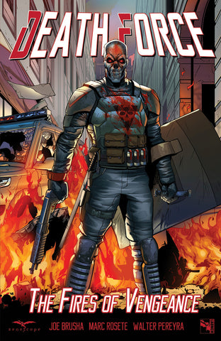Death Force: The Fires of Vengeance Graphic Novel
