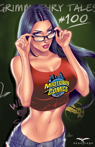Grimm Fairy Tales #100 - Cover N Art Print