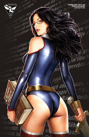 Grimm Fairy Tales #109 - Cover D Sela Mathers Book Sword Cool Art Style Comic Book Cover