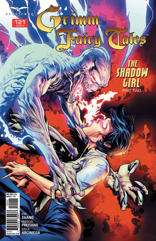 Grimm Fairy Tales #121 Bloody Bones Draining Energy Soul From Girl Red Danger Attack