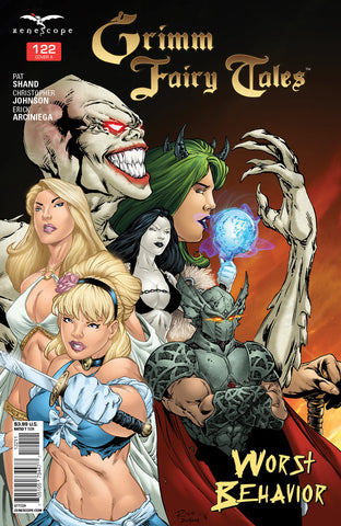 Grimm Fairy Tales #122 Grimm Fairy Tales Characters Bloody Bones Cinderella Looking Out