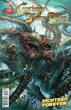 Grimm Fairy Tales #123 5 Headed Octopus Hydra Ocean Water Kraken