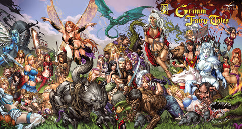 Grimm Fairy Tales Puzzle