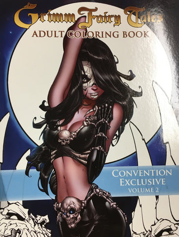Grimm Fairy Tales Adult Coloring Book - Convention Exclusive, Volume 2