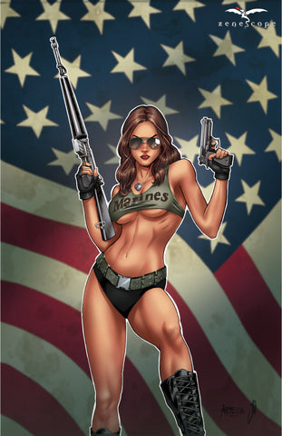 Grimm Fairy Tales: 2017 Armed Forces Edition - Cover A Art Print