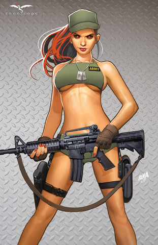 Grimm Fairy Tales: 2017 Armed Forces Edition - Cover C Art Print