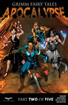 Grimm Fairy Tales: Apocalypse #2 Arcane Acre Students Mary Medina Magic Users Street Getting Ready Fight Battle