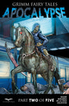 Grimm Fairy Tales: Apocalypse #2 Death Riding Horse Scythe Subway