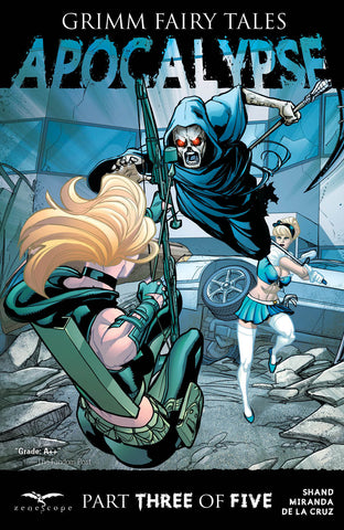 Grimm Fairy Tales: Apocalypse #3 Cinderella Robyn Hood Fighting Death Action Flying Battle Exciting Intense