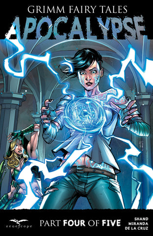 Grimm Fairy Tales: Apocalypse #4 Marian Magic Robyn Hood Temple Stone