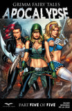 Grimm Fairy Tales: Apocalypse #5 Hellchild Robyn Hood Cinderella Preparing for Battle Pose Comic Cover Art