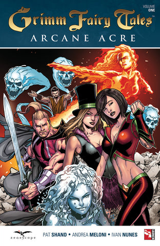 Grimm Fairy Tales Arcane Acre Volume 1 Graphic Novel