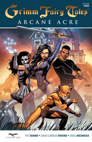 Grimm Fairy Tales Arcane Acre Volume 3 Graphic Novel