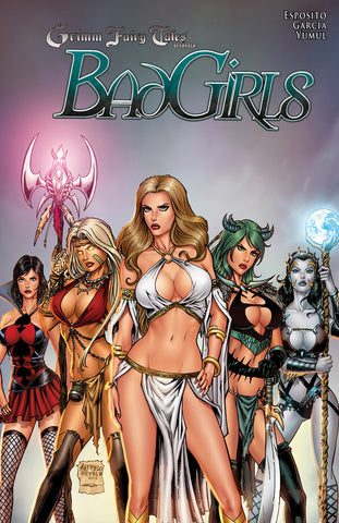 Grimm Fairy Tales: Bad Girls Graphic Novel