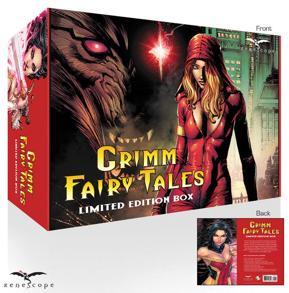 This limited edition box set features all the covers from Grimm Fairy Tales: Vol. 2 #1 and more special exclusives!