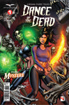 Dance of the Dead #1 Mystere Mary Medina Fighting Zombie Monsters Shadowlands Scary Horror Comic Book Cover Art