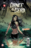 Dance of the Dead #1 Mark Medina Mystere Pond Reflecting Water Shadowlands Evil Swamp Comic Book Cover Art
