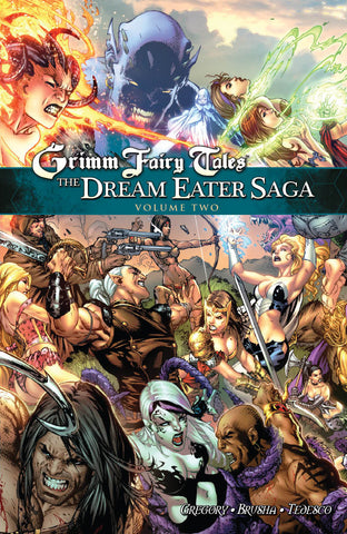 Grimm Fairy Tales: Dream Eater Saga Vol. 2 Graphic Novel