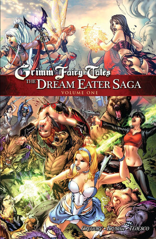 Grimm Fairy Tales: Dream Eater Saga Vol. 1 Graphic Novel