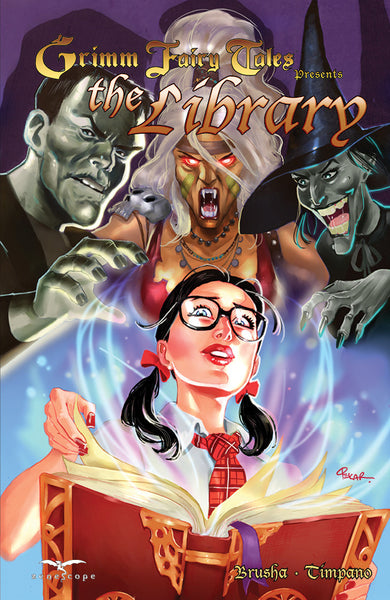 Grimm Fairy Tales: The Library Trade Paperback
