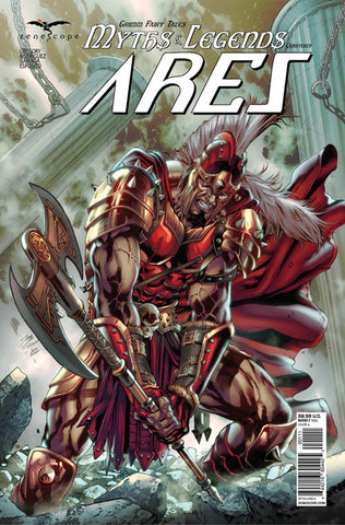 Grimm Myths & Legends Quarterly: Ares. Cover A. Igor Vitorino. Ivan Nunes. Zenescope. 2020.