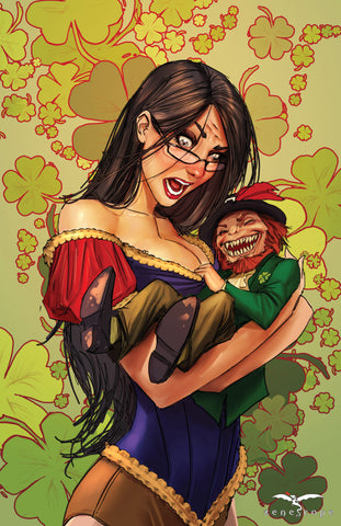 Grimm Fairy Tales: St. Patricks Day Special 2013 - Cover B Art Print