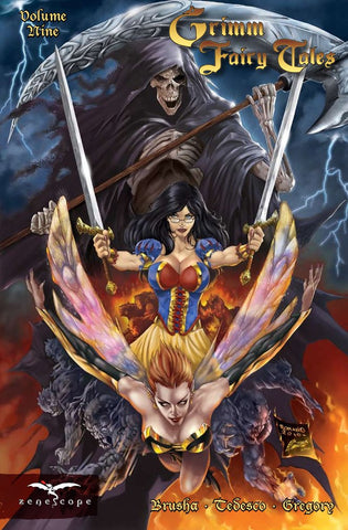 Grimm Fairy Tales Volume 9 Graphic Novel