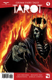 Grimm Fairy Tales: Tarot #1 Emperor of Tarot Flaming Skeleton Crown Robe Royalty