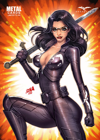 Grimm Fairy Tales Vol. 2 #36 - Cover G Metal Card