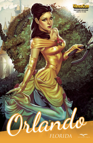 Grimm Fairy Tales: Vol. 2 #6 - Cover F Michael Dooney Belle Cosplay Gold Dress Nice
