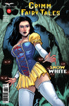 Grimm Fairy Tales: Vol. 2 #7 D Andrea Errico Magic Girl in Cave Monsters Shadows