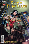 Grimm Fairy Tales: Vol. 2 #8 Gril Skye Sword On Top of Gargoyle City Skyline