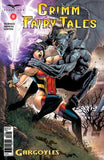 Grimm Fairy Tales: Vol. 2 #8 Skye Fighting Gargoyle Action Sword Magic Explosions Debris