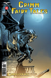 Grimm Fairy Tales: Vol. 2 #8 Scary Gargoyle Statue Moonlight Night City Skyline Gothic