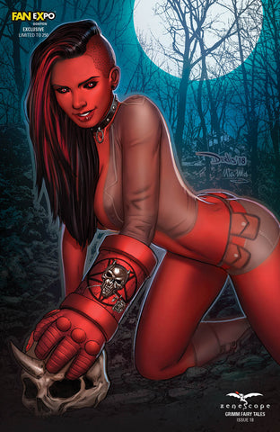 Grimm Fairy Tales Vol. 2 #18 - Cover E - LE 250