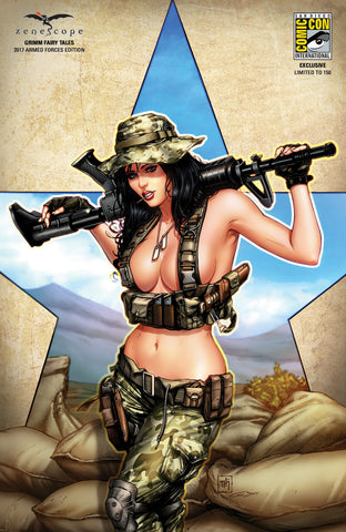 Grimm Fairy Tales 2017 Armed Forces Special - Cover G - LE 150