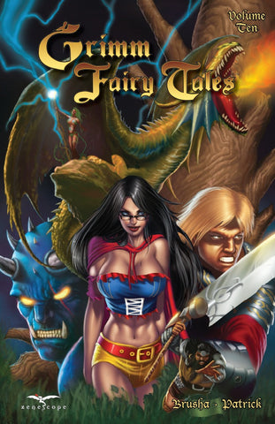 Grimm Fairy Tales Volume 10 Graphic Novel