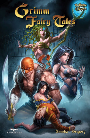 Grimm Fairy Tales Volume 11 Graphic Novel