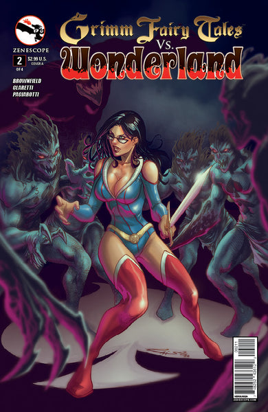 Grimm Fairy Tales vs. Wonderland #2
