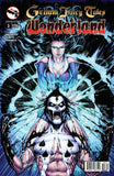 Grimm Fairy Tales vs. Wonderland #3 King of Spades Sela Mathers Blue Magic