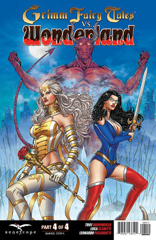 Grimm Fairy Tales vs. Wonderland #4