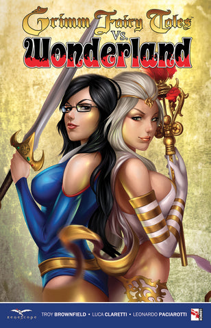 Grimm Fairy Tales vs. Wonderland Graphic Novel