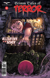Grimm Tales of Terror: Vol. 3 #6 B Harvey Tolibao Kid Reaching for Ball Sewers Alligator Claw Danger